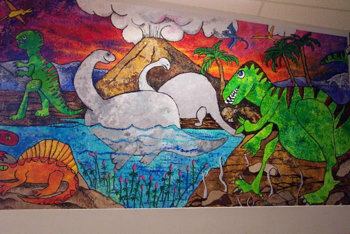 Highland School Murals JoAnn Moran
