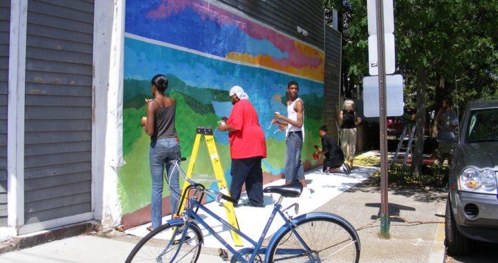 Nash St Community Mural