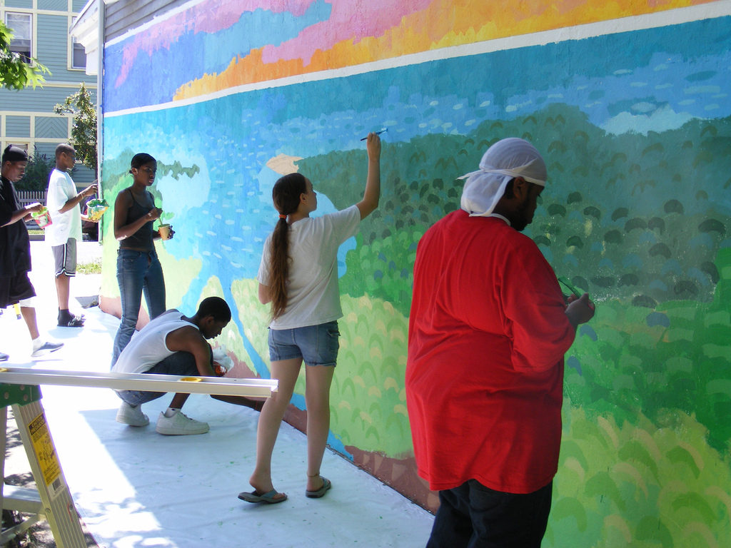 Nash St Mural Youth Employment