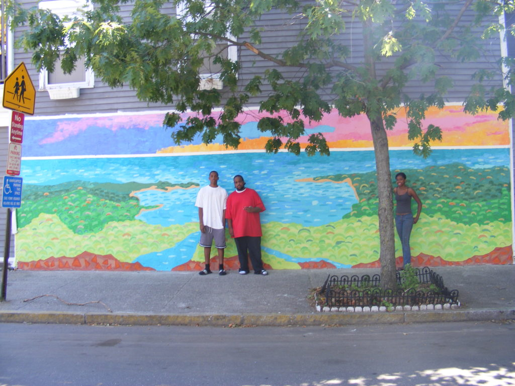 Nash St Mural- Summer Youth Employment Project
