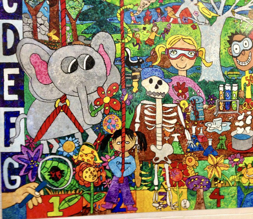 Chapman Elementary School Mural