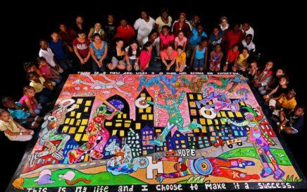 Roberto Clemente Academy Mural